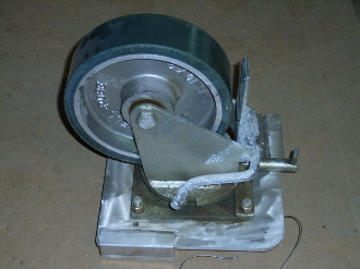 MOBILITY CASTER P/N 60037-001, NSN 8145-01-0384-9260, 60037-001, 8145 01 384 9260