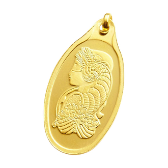 10 Gram Gold Bar, 10 Gram PAMP SUISSE Fortuna, 10 Gram Oval Gold Bar with PENDANT, 10 Gram Oval Gold Bar, 10 gram Gold Bar - PAMP Suisse - Fortuna - 999.9, 10 gram Gold Bar - PAMP Suisse,