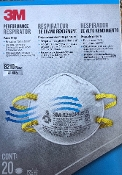 3M N95 8210 Plus Respirator Mask 20 Pack